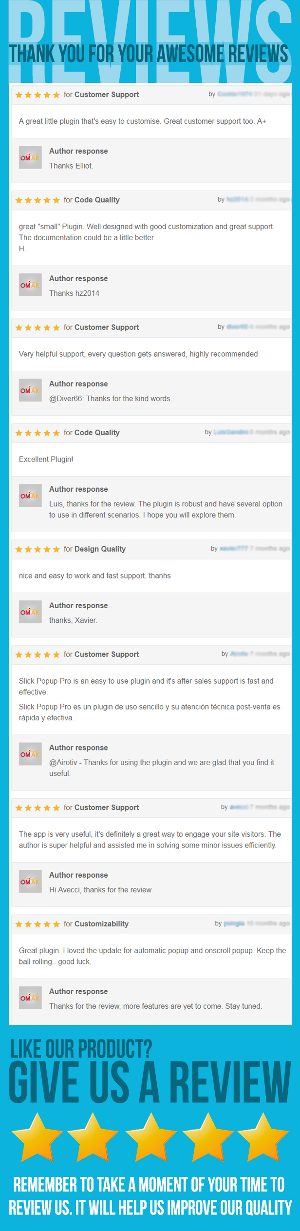 WordPress Popup Plugin - Slick Popup Pro - 11